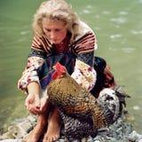 Gallo - símbolo del Año Nuevo Fotografía de archivo libre de regalías