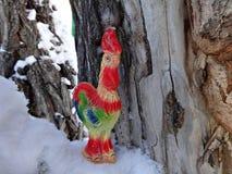 Gallo - un símbolo de 2017 Foto de archivo libre de regalías