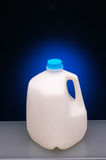 Gallon de lait Images stock