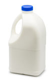 Gallon of milk. On white background Royalty Free Stock Photos