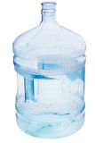 5 Gallon water bottle. Isolated on white background stock image