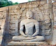 Gallone vihara Buddha Stockbilder
