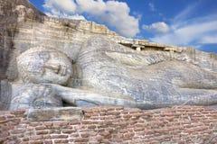 Gallone Vihara, Polonnaruwa, Sri Lanka Lizenzfreies Stockfoto
