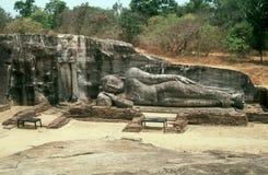 Gallone Vihara, Polonnaruwa, Sri Lanka Fotografie Stock