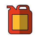 Gallonenbehälter-Ölikone stock abbildung