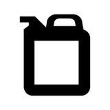 Gallonenbehälter-Ölikone vektor abbildung
