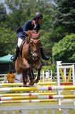 Horse Showjumping 2011  Royalty Free Stock Photography