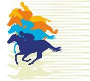 Gallop race Stock Photo