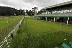 Gallop race track of Nuwara Eliya in Sri Lanka. The Gallop race track of Nuwara Eliya in Sri Lanka Royalty Free Stock Photography