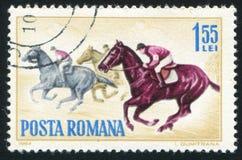 galloping stock fotografie