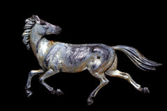 Galloping horse Royalty Free Stock Images