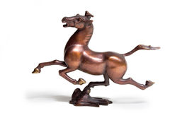 Galloping Horse Treading on a Flying Swallow. Is an archaeological find in Donghan Dynasty Stock Photos