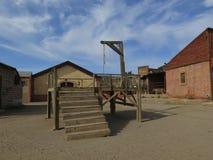 Gallow στο οχυρό Bravo Στοκ εικόνα με δικαίωμα ελεύθερης χρήσης