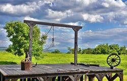 gallows foto de stock royalty free