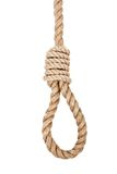 Gallows hanging rope Royalty Free Stock Photo
