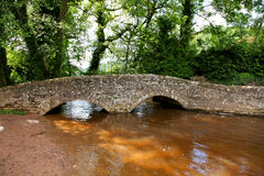Gallox Bridge, Dunster Royalty Free Stock Photos