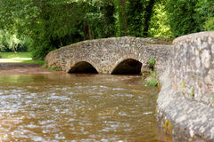 Gallox Bridge, Dunster Stock Photography