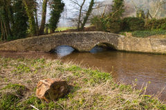 Gallox Bridge Dunster Somerset England Royalty Free Stock Photo