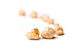 Gallstones. Removed from a persons gall bladder by surgery royalty free stock image