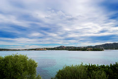 Gallura clouds Royalty Free Stock Photography