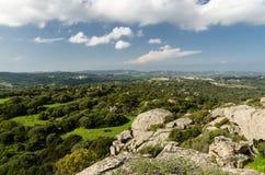 Gallura countryside Stock Image
