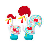 Galo and Galinha de Barcelos Stock Photo