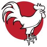 Galo Logo Icon Fotografia de Stock