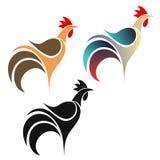 Galo. Logotipo Imagem de Stock