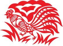 Galo oriental Fotografia de Stock Royalty Free