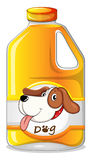 A galon of dog soap Stock Photo