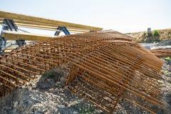 Galonowy betonu żelazo obrazy stock