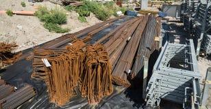 Galonowy betonu żelazo fotografia stock