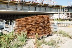 Galonowy betonu żelazo zdjęcie royalty free