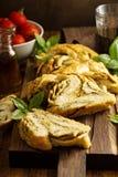 Galonowy pesto chleb obrazy royalty free