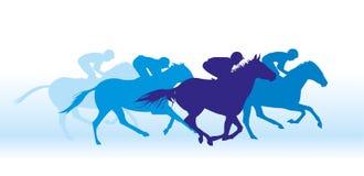 Galop op paarden Royalty-vrije Stock Foto's