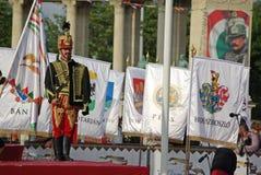 Galope nacional en Budapest, 1 de junio de 2009 foto de archivo