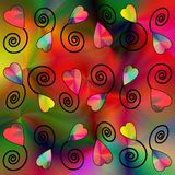 galore сердца Стоковые Изображения RF