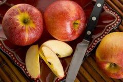 Galowi jabłka Zdjęcie Royalty Free