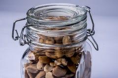 Galss-Glas mit Acajoubäumen Lizenzfreie Stockfotos