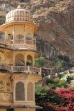 Galta-Tempel-Architekturdetail Lizenzfreie Stockfotografie