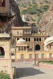 Galta-Tempel, der Affetempel in Indien Lizenzfreie Stockbilder