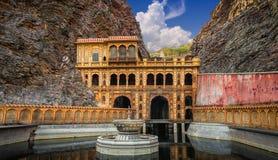 Galtaji, Affe-Tempel, Jaipur Lizenzfreie Stockbilder