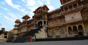 Galtaji, der Affetempel jaipur Rajasthan Indien Stockfotos