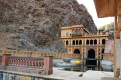 Galtaji, der Affetempel jaipur Rajasthan Indien Stockfotografie