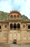 Galtaji Temple In Jaipur. Stock Photo