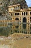 Galtajitempel Jaipur Stock Foto