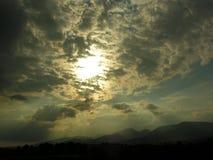 Galtee gór Irlandia sylwetka Zdjęcie Stock
