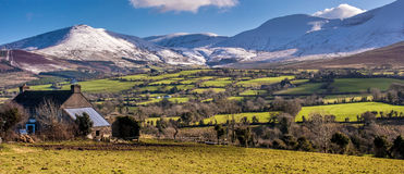 Galtee mountains in Ireland Royalty Free Stock Photo