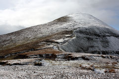 The Galtee mountains in winter, Ireland Stock Images