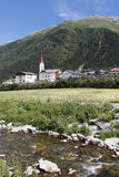 Galtur Tyrol Valley Village Royalty Free Stock Photos